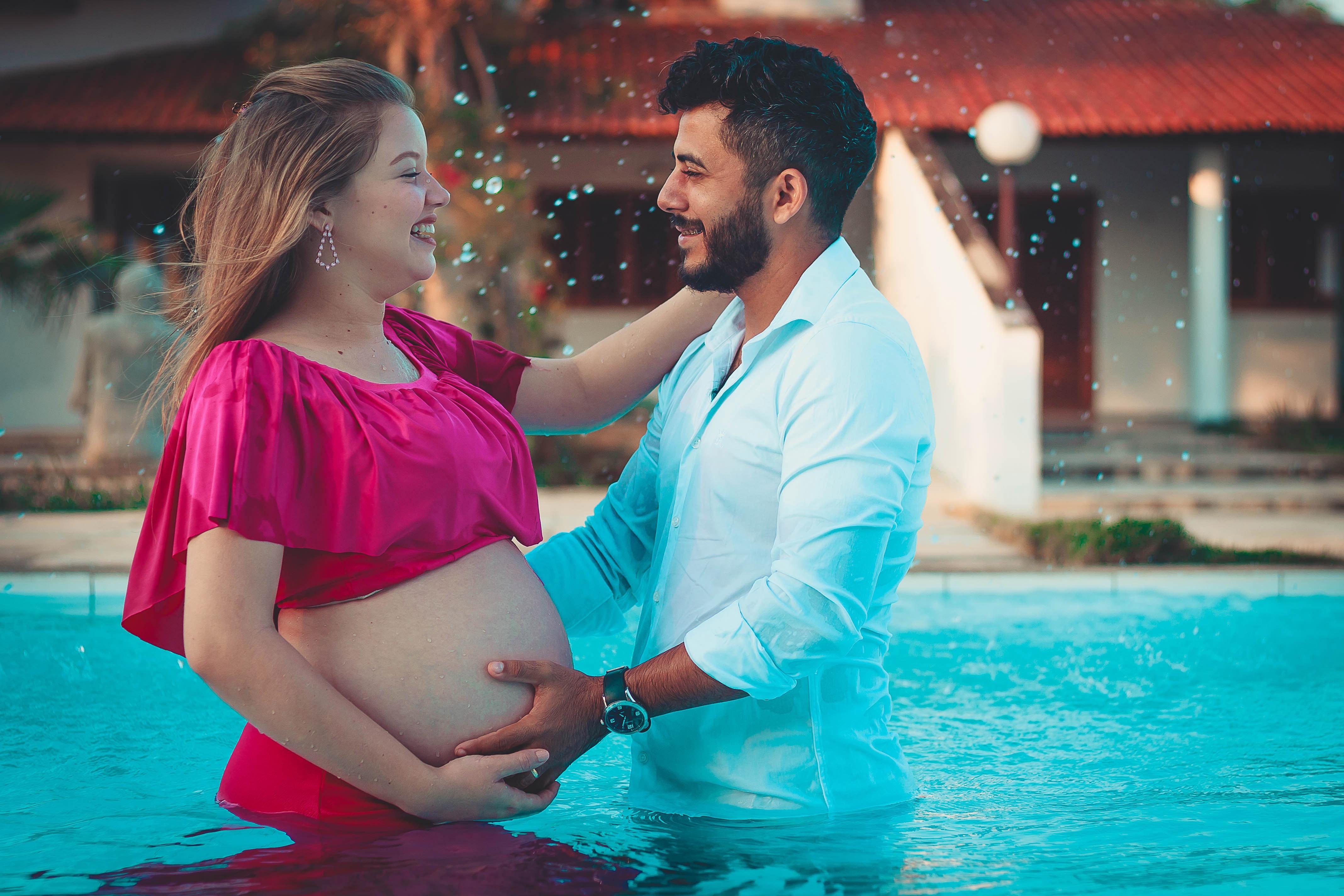 Les bienfaits du tournage photo de grossesse